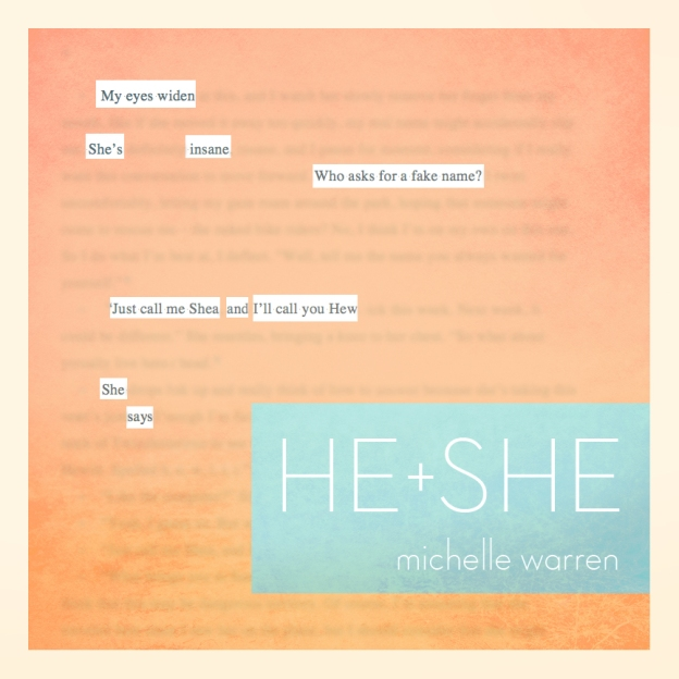 He+She Quote