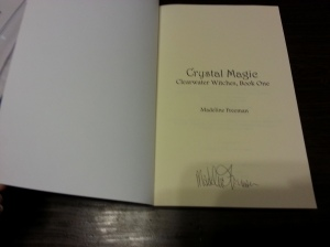 crystal magic signed